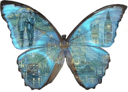 пеперудени полети в английския